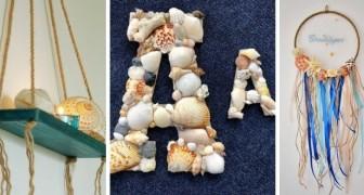 9 strepitose decorazioni fai-da-te in stile marino per portare in casa tutta la magia dell'estate