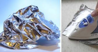 7 usi alternativi della carta stagnola, perfetti per svolgere diverse faccende di casa