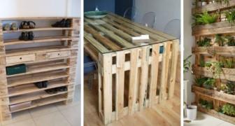 11 trovate brillanti per riciclare i pallet e confezionare mobili strepitosi per casa e giardino