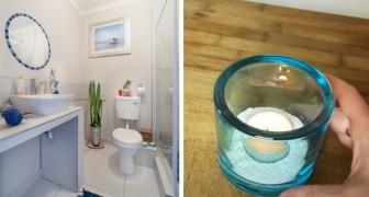 Några enkla trick för att få ett badrum utan fönster att dofta gott
