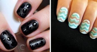 8 tecniche fai da te per dipingere le unghie in modo originale e creativo