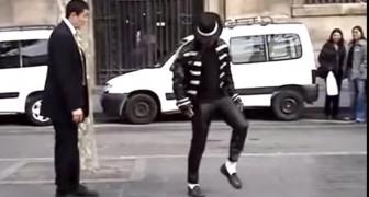 Un missionario incontra Michael Jackson: la loro sfida incanta i passanti