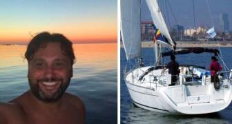 Regala giri in barca a ragazzi autistici: il nobile gesto di un vigile del fuoco di Bari
