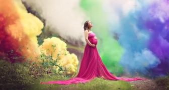 Ze wordt eindelijk moeder na 6 miskramen: een spectaculaire foto viert de gelukkige gebeurtenis