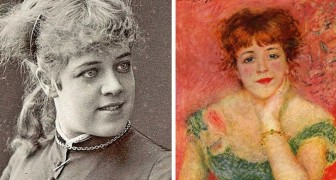 10 donne che hanno ispirato i grandi pittori del passato: un confronto fotografico mostra il loro vero aspetto