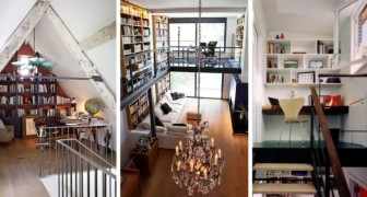 9 idee da sogno per allestire un praticissimo ufficio su un soppalco