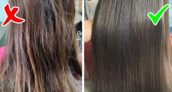 Os 5 erros mais comuns que danificam os cabelos: o que fazer para evitá-los e ter sempre um look perfeito