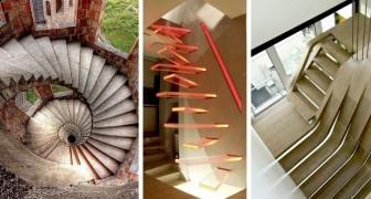 13 scalinate mozzafiato che sembrano sfidare le leggi dell'architettura