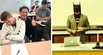 14 professeurs ironiques et créatifs qui ont su capter l'attention de leurs élèves