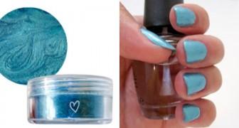 Riciclo di cosmetici: il metodo semplicissimo per trasformare un ombretto in un fantastico smalto