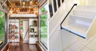 10 intelligente Einrichtungslösungen, die selbst die kleinsten Räume praktisch und geräumig gemacht haben