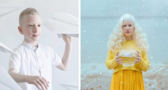 Un photographe a immortalisé toute la beauté poétique des albinos dans une série de clichés magiques