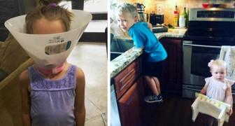 13 fotos demuestran que la vida con un hermano o una hermana es decididamente más entretenida