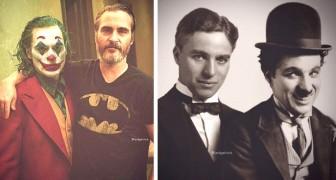 12 photos fascinantes d'acteurs immortalisés avec leurs personnages les plus célèbres