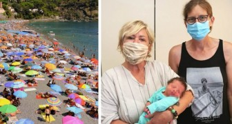Ela não sabia que estava grávida: uma mulher dá à luz de repente no banheiro de um local à beira mar
