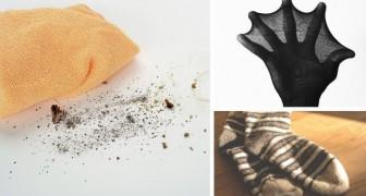 3 rimedi fai-da-te per fabbricare stracci mangia polvere riciclando collant, calzini e biancheria per la casa