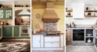 10 irresistibili allestimenti per cucine in muratura, rustiche e moderne