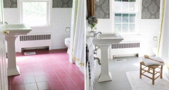 Stanchi dei vecchi pavimenti? Dipingeteli per rinnovare l'aspetto di tutta la stanza con una spesa minima