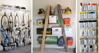 12 solutions brillantes pour organiser au mieux les espaces du garage et trouver un endroit pour tout