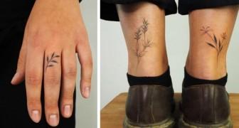Kleine en delicate tatoeages: 13 ideeën om inspiratie op te doen om je lichaam met elegantie te versieren