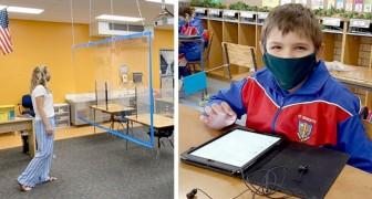 10 foto mostrano quanto sia cambiata la vita nelle scuole di tutto il mondo