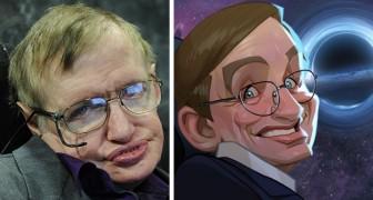 Er zeichnet detaillierte Karikaturen berühmter Persönlichkeiten nach: Die Ähnlichkeit ist verblüffend