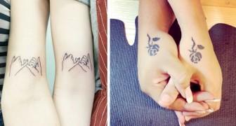 12 tatuaggi emozionanti che celebrano il legame tra sorelle nella maniera più originale