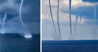 Une vidéo montre six trombes marines dans le Golfe du Mexique : un phénomène aussi inquiétant que fascinant