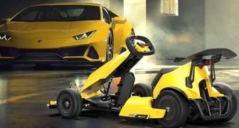 Lamborghini présente un go-kart électrique exclusif qui coûte moins de 1 500 dollars