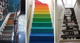 9 spunti irresistibili per decorare le scale di casa in modo unico e originale