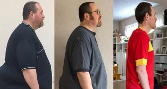 11 Personen, die eine Wende in ihr Leben gebracht haben, indem sie Gewicht verloren und praktisch nicht wiederzuerkennen sind