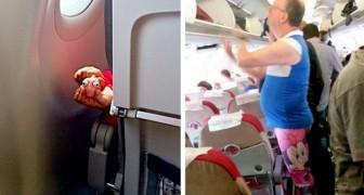 10 volte in cui il viaggio in aeroplano si è trasformato in un'esperienza al limite dell'assurdo