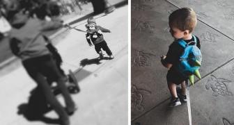 """Mette il """"guinzaglio"""" al suo bambino come misura di sicurezza: il gesto di questa mamma scatena il dibattito"""
