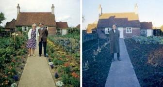 Er fotografiert ein altes Paar ein Jahr lang in dessen Garten, stets in der gleichen Pose: Das letzte Foto ist herzzerreißend