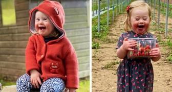 Cette adorable fille porteuse de trisomie 21 est déjà mannequin : à seulement 2 ans, elle devient un symbole d'inclusion