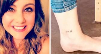 Je me fiche de ce que pensent les gens : la mère défend le tatouage de sa fille dédié à son père disparu