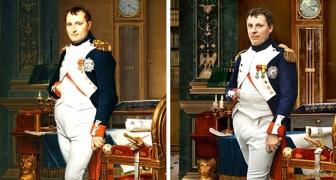 Ein Fotograf hat Porträts einiger historischer Persönlichkeiten nachgebildet und dabei ihre direkten Nachkommen als Modelle benutzt