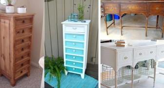 11 astuces pour rénover vos vieux meubles en les transformant en de charmantes pièces vintage