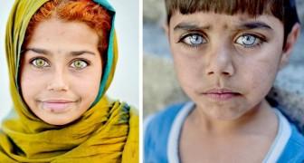 Een fotograaf legt de doordringende ogen van de kinderen in Turkije vast: zo doordringend dat het moeilijk is om de blik vast te houden