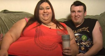 This engaged couple are chasing an absurd dream: she wants to become the fattest woman in the world