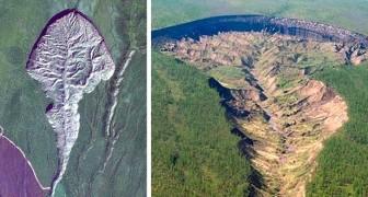 La Porta dell'inferno: l'enorme cratere siberiano che si è aperto nel terreno e che si allarga sempre di più