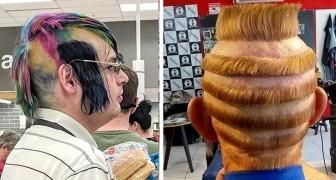 17 coiffures si extravagantes que les personnes n'ont pu s'empêcher de les immortaliser