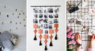 10 idee una più bella dell'altra per esporre le fotografie e arredare in modo fresco e moderno