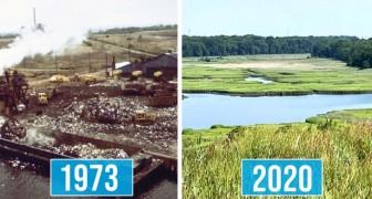 La plus grande décharge de tous les temps a été transformée en une immense oasis verte : les déchets deviennent combustibles