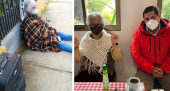 She abandoned her 88 year old mother outside: the woman is reported for mistreatment