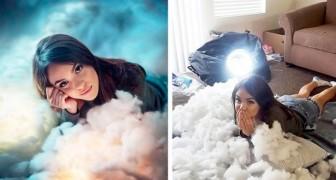 20 clichés qui montrent les coulisses de quelques photos parfaites sur les réseaux sociaux