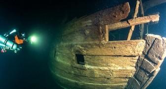 Een team duikers ontdekt het wrak van een 400 jaar oud zeilschip in perfecte staat