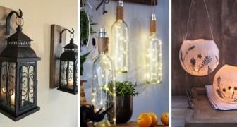 12 idee irresistibili per illuminare la casa o il giardino con lanterne rustiche e moderne