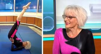 Questa donna di 80 anni ha deciso di diventare una ginnasta, dimostrando che l'età a volte non conta