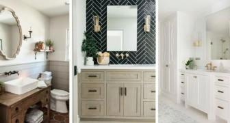 I trucchi più sorprendenti per far sembrare qualsiasi bagno immediatamente più lussuoso